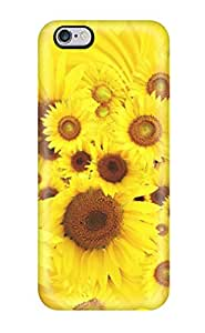 Maria Julia Pineiro's Shop 8086458K63560330 Case Cover Protector Specially Made For Iphone 6 Plus Cool Sunflowers