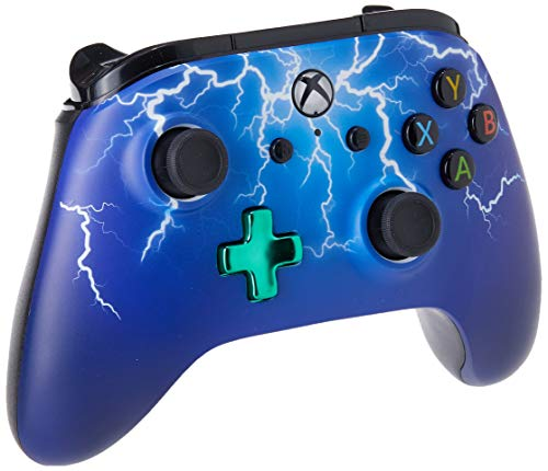 PowerA Enhanced Wired Controller for Xbox One - Spider Lightning 1