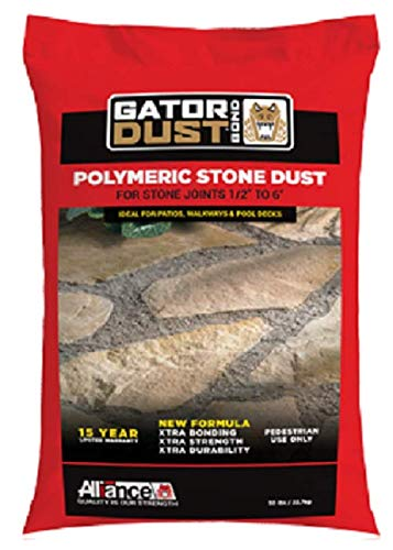 Gator Polymeric Stone Dust Bond. For Joint up to 6 Inches. (Gray)