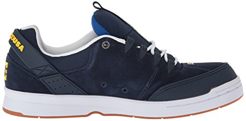 Dc Syntax Skateboarding Navy Men White Shoe rqH6r5C
