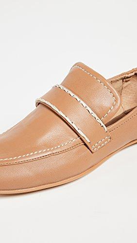 Women's Dolce Vita Mocha Loafer Leather Flat Fraser nppUqT4wa