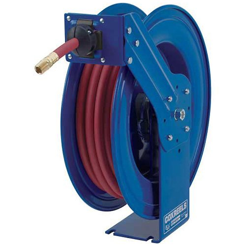 Coxreels SH-N-435 Heavy Duty Spring Driven Hose Reel 1/2'' x 35', 300 psi