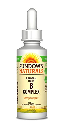 Sundown Vitamin B12 Complex Sublingual Liquid, 2 Oz (Pack of 3) , Sundown-htgi