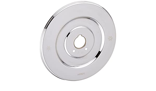 Moen 16090 Chateau Collection Replacement Escutcheon for One-Handle Tub and Shower Faucets, Chrome: Amazon.es: Bricolaje y herramientas