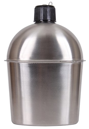 Rothco GI Style Stainless Steel Canteen by Rothco