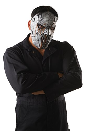 Rubie's Men's Slipknot Mick Face Mask, Multi, One Size (Slipknot Masks For Sale)