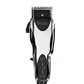 Wahl Professional Super Taper II Hair Clipper #8470-500 - Ultra-Powerful Full Size Clipper - V5000 Electromagnetic Motor - Includes 8 Attachment Combs - 41iKrcMg32L - Wahl Professional Super Taper II Hair Clipper #8470-500 – Ultra-Powerful Full Size Clipper – V5000 Electromagnetic Motor – Includes 8 Attachment Combs