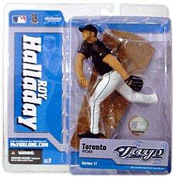 Roy Jersey (McFarlane Toys MLB Toronto Blue Jays Sports Picks Series 11 Roy Halladay Action Figure [Black Jersey])