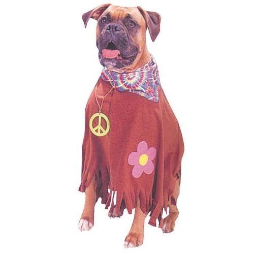 Pet COSTUME, Hippie -