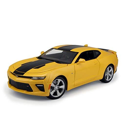 WSWJJXB 1:18 Modelo De Coche De Aleación De Metal Modelo (Color : Yellow) por WSWJJXB