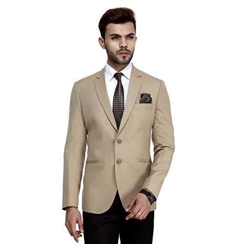 41iKs3VcrFL. SS500  - MANQ Men's Slim Fit Formal/Party Men's Blazer