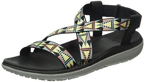 Teva 1009807 - Sandalias Para Mujer Negro (Mosaic Black/Multi Mbmtmosaic Black/Multi Mbmt)