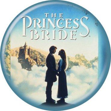 (Princess Bride - Movie Poster - Pinback Button 1.25