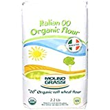 "Molino Grassi USDA Organic Italian ""00"" Soft Wheat Flour, 2.2 lbs (Pack of 2)"