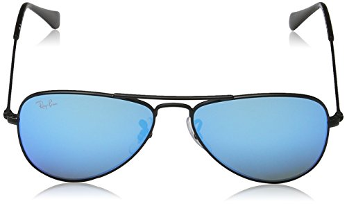 Junior Matte Ban Ray RJ9506S Black Sonnenbrille prg5qA5
