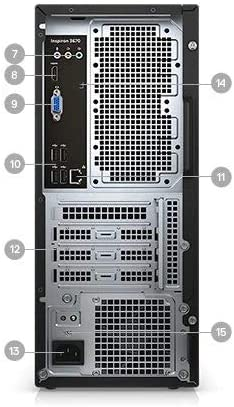 Latest_DELL Inspiron High Performance Desktop,8th Generation Intel Core i5-8400 Processor,12GB RAM,1TB Hard Drive,DVD R/W,WiFi+Bluetooth, HDMI, Windows 10 Home