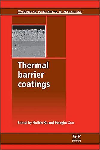 Download online Thermal Barrier Coatings PDF, azw (Kindle), ePub, doc, mobi
