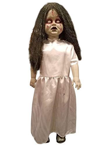 Forum Novelties 79347 Standing Zombie Girl Prop, Multicolor, One Size ()