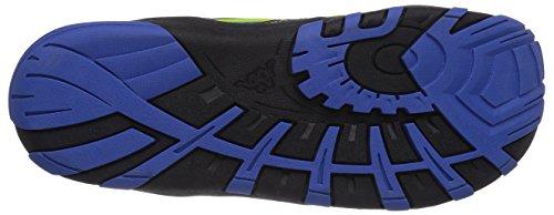 Kappa MEMORY T Footwear Teens - zapatilla deportiva de material sintético infantil gris - Grau (1660 grey/blue)