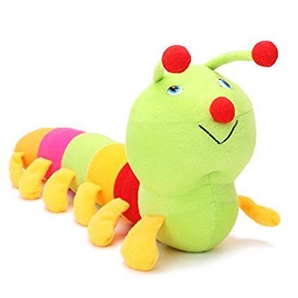 50cm Babies Kids Colorful Lovely Caterpillar Soft Pillow Developmental Plush Toy // 50cm bebés niños