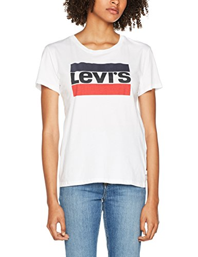 shirt The white Levi's Bianco Perfect 297 Donna T Tee dId4wP