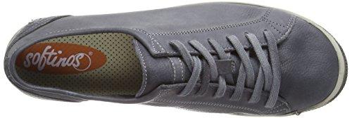 Softinos Donna 572 anthracite Sneaker Isla Marrone RBgnRHr