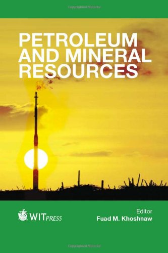 Petroleum and Mineral Resources (Wit Transactions on Engineering Sciences)