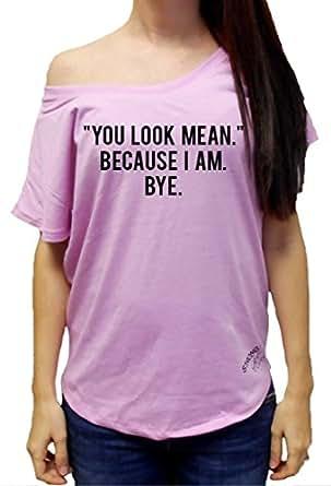Amazon.com: Strong Girl Clothing Women'sYou Look Mean ...
