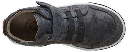 Garvalin 161757a - botas de caña baja con forro cálido y botines Niños Gris - Grau (BLU)