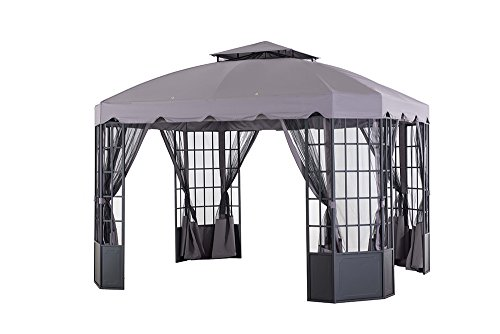 Sunjoy-L-GZ120PST-2L-118-x-98-Franklin-Bay-Window-Gazebo-Large-Gray