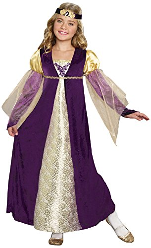 SugarSugar Girls Royal Princess Costume, One Color, Medium, One Color, Medium (Princess Renaissance Costume)
