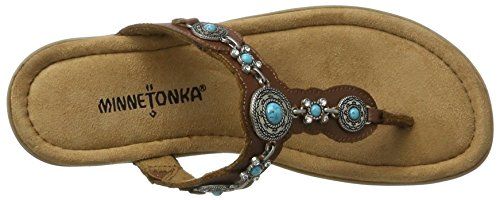 Womens Leather Whiskey Minnetonka Womens Thong Boca Minnetonka III 4wqERn07x