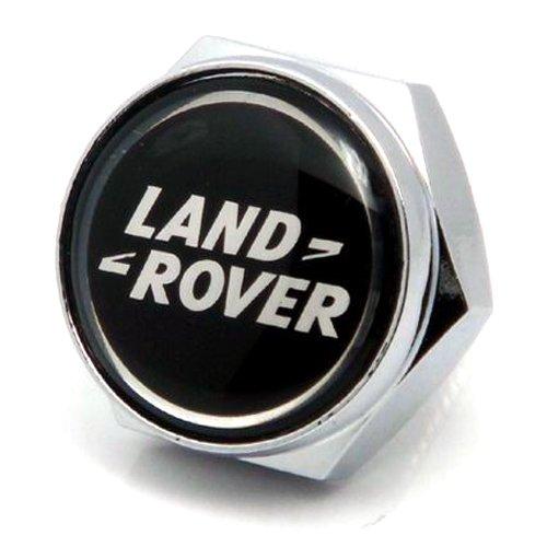 Stanniz(TM) 4 PCS of Land Rover Stainless Steel License Plate Fastener Bolt Screw Nut