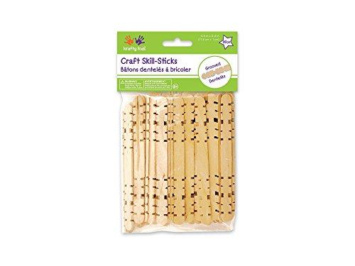 Craft Skill Sticks-Natural 4.5