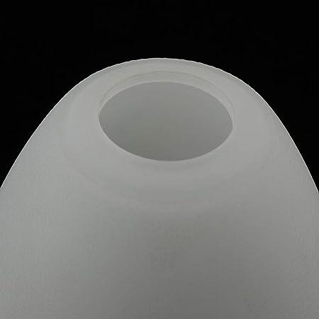 Ersatzlampenschirme aus Milchglas in einem runden und kegeligen Design 3er Set
