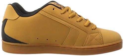 Wheat Low Men Brown Black Sneakers Chocolate DC Top Net Dk pUTYwx1qE