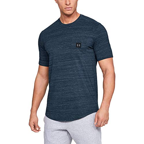 Under Armour Men's sportstyle Pocket Tee, Academy, X-Large