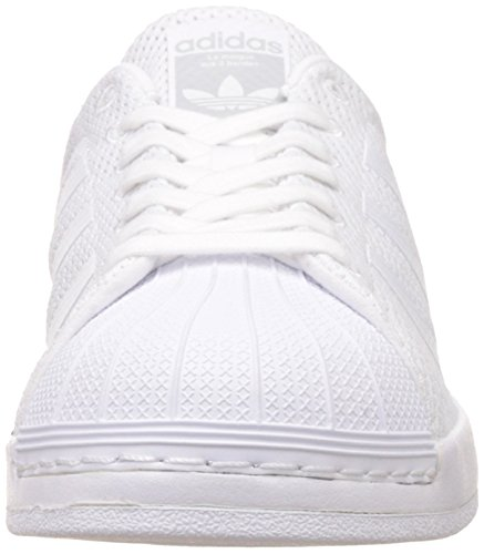 adidas Men's Superstar Bounce, Footwear White/Footwear White, 9.5 M US