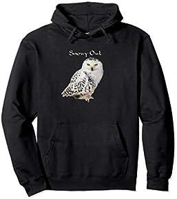 Snowy Owl Pullover Hoodie