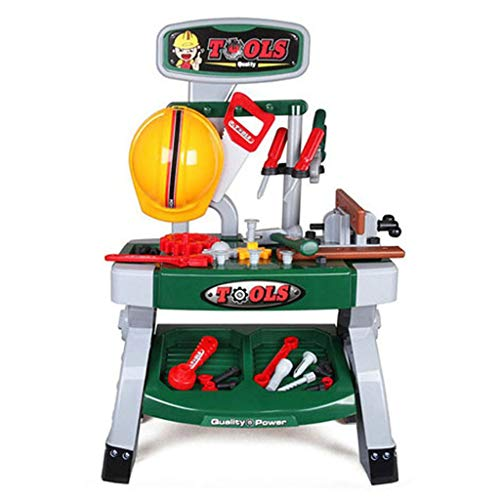 Mercures Children's Construction Toy | Workbench DIY disassembly Repair kit boy Toy,Gift -Ship from US -