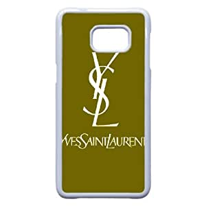 Yves Saint Laurent YSL Logo For Samsung Galaxy S6 Edge Plus Phone Case Cover 66TY450649