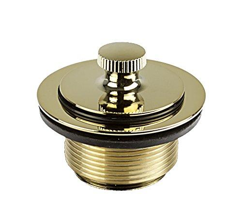 (1-1/2 inch x 1-3/8 inch Lift/ Turn 1-Hole Bath Waste Trim - PVD Polished Brass)