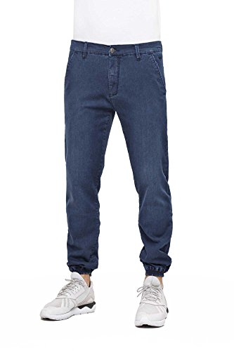 Reell Jogger Blueblue Jeans Pantalone Ginnico Pantaloni Uomo wAwHp