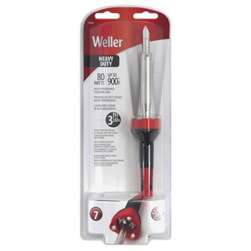 037103266941 - Weller SP80NUS Heavy Duty LED Soldering Iron, Red/Black carousel main 0