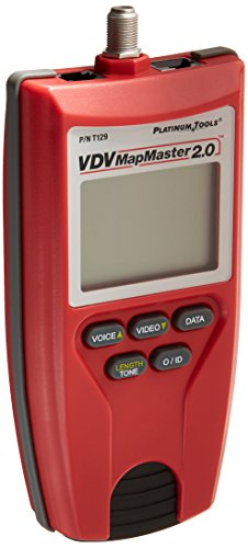 Price comparison product image Platinum Tools T129K1 Vdv Mapmaster 2.0 Tester Kit. Box.