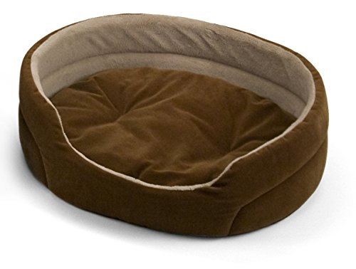 Corduroy Oval Bed - 1