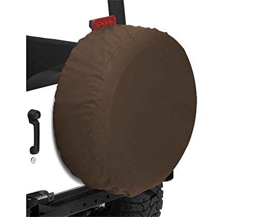 (Bestop 61030-33 Dark Tan Large Tire Cover for Tires 30