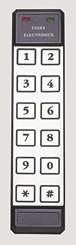 (Essex K1-26S ALL-IN-ONE Reader/Access Controller w/ Thinline 2x6 Keypad Only)