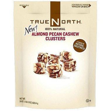 True North Almond Pecan Cashew Clusters - 24 oz. (pack of 6) by TRUE NORTH