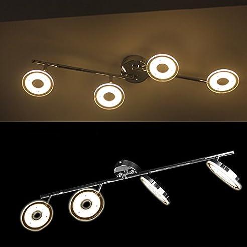 Hengda® 24W LED Deckenleuchte Modern Deckenlampe 2700K-3500K ...